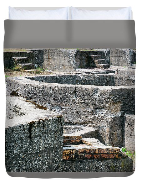 In The Ruins 6 Duvet Cover