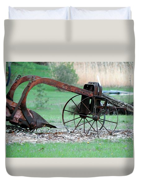 In The Rust Home Duvet Cover