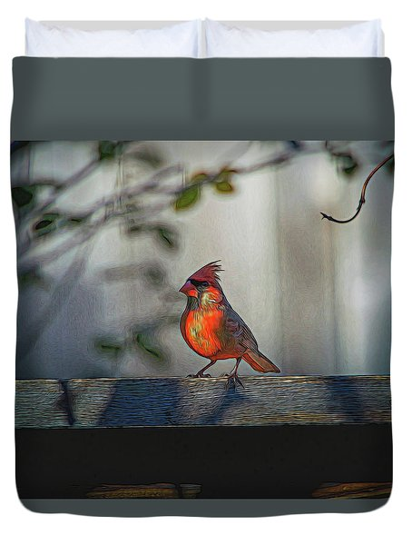 In The Shade Duvet Cover