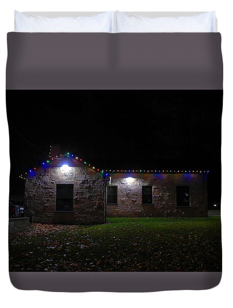 In The Shadows Duvet Cover