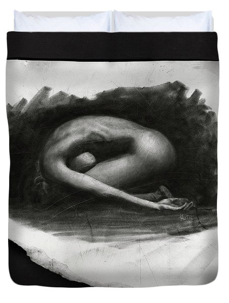 In The Shadows Ll Duvet Cover