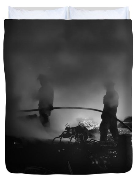 In The Smoke Duvet Cover
