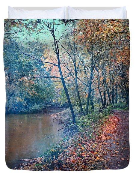 In The Stillness Of The Morning Duvet Cover
