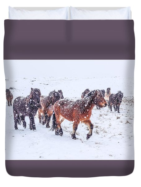 In The Storm 2 Duvet Cover