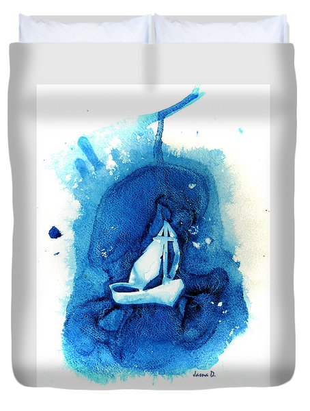In The Storm Duvet Cover