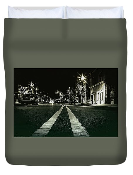 In The Streets Duvet Cover