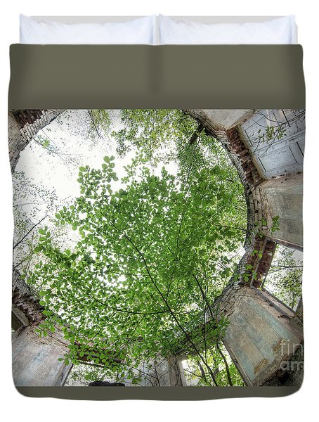 In The Tower Duvet Cover by Michal Boubin