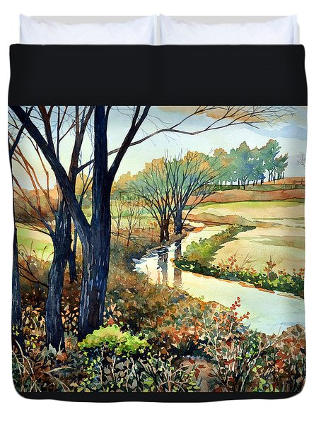 In The Wilds Duvet Cover