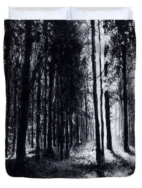 In The Woods 6 Duvet Cover