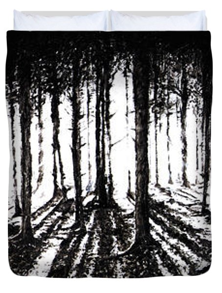 In The Woods 2 Duvet Cover