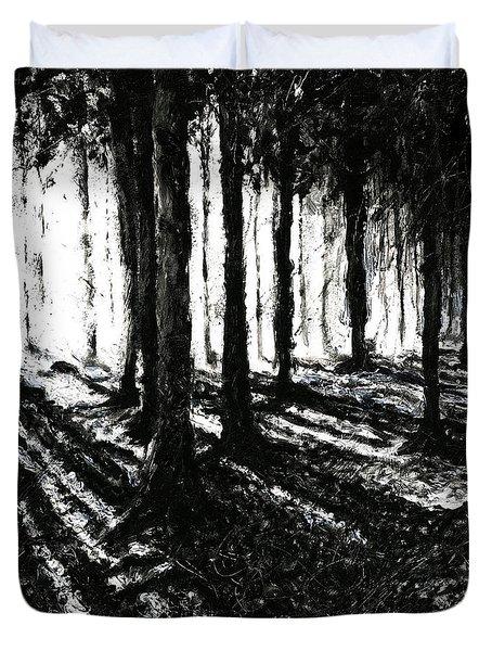 In The Woods 3 Duvet Cover