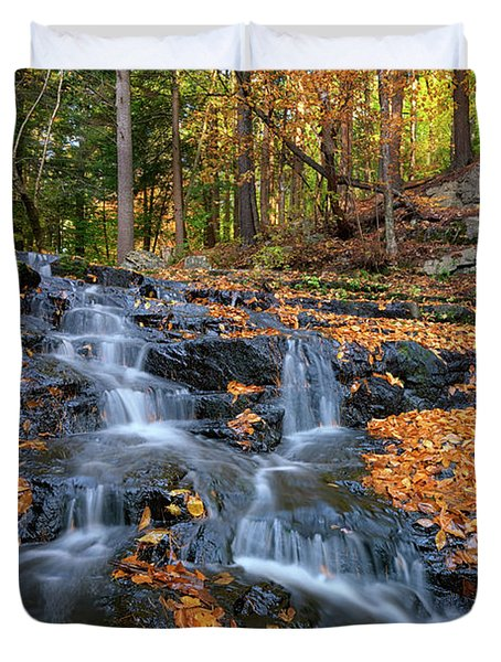 In The Woods Duvet Cover by Rick Berk