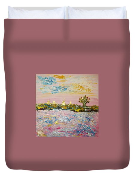 In The World Of Illusions Duvet Cover