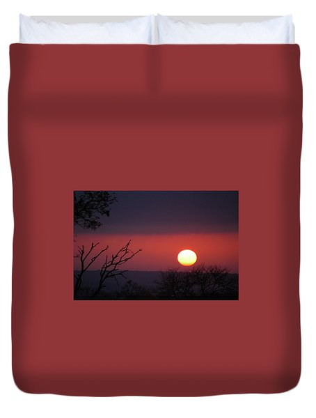 Duvet Cover featuring the photograph In The Zone by Alex Lapidus