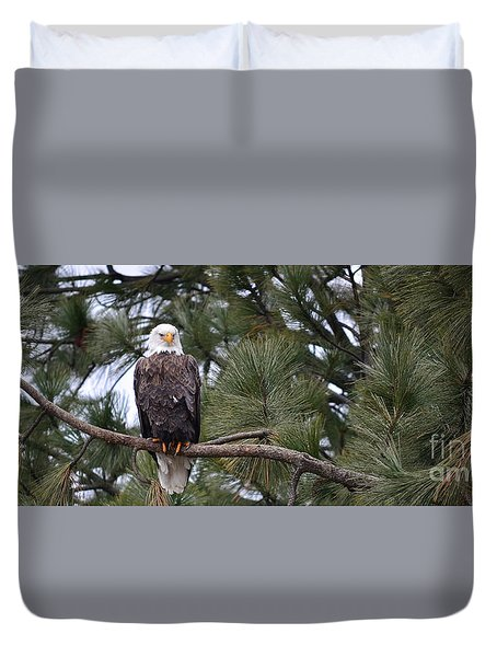 In Time Duvet Cover
