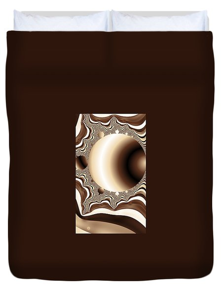 Into The Circle Duvet Cover