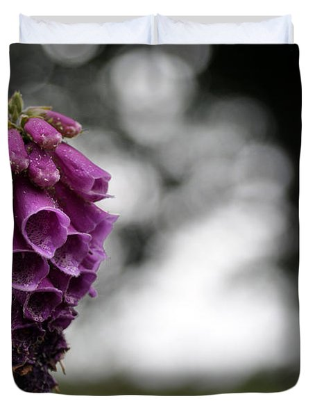Duvet Cover featuring the photograph In Yorkshire 3 by Dubi Roman