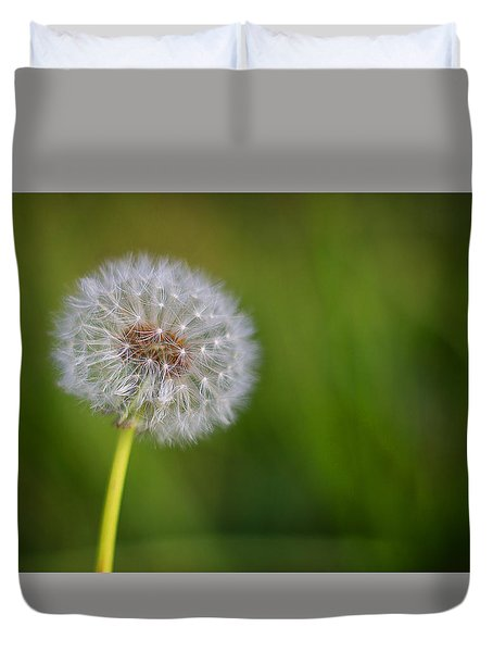 In Your Own Time Duvet Cover by Tim Nichols