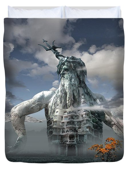 Inadvertent Metamorphosis Or King Of My Castle Duvet Cover