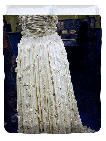Inaugural Gown On Display Duvet Cover by LeeAnn McLaneGoetz McLaneGoetzStudioLLCcom
