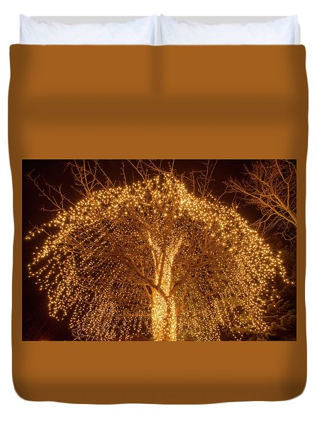 Incandescent Branches  Duvet Cover