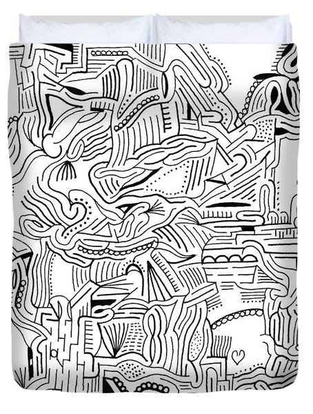 Inclusive Duvet Cover by Steven Natanson