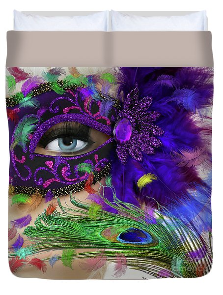 Incognito Duvet Cover by LemonArt Photography