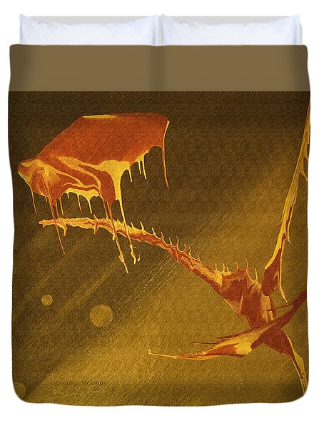 Incoming Message Duvet Cover