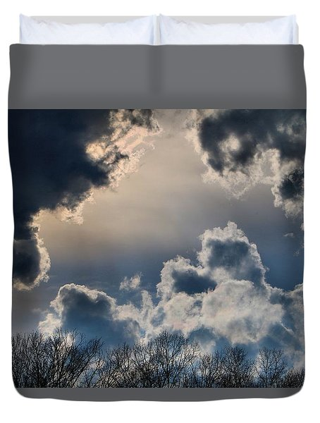 Incredible Clouds Duvet Cover