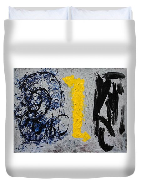 Indecisive Duvet Cover