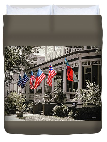 Independence Day Southport Style Duvet Cover