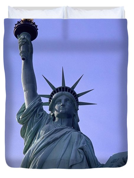 Duvet Cover featuring the photograph Independence Day Usa by Travel Pics