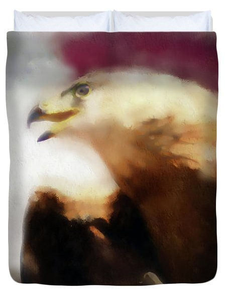 Independence Eagle Duvet Cover
