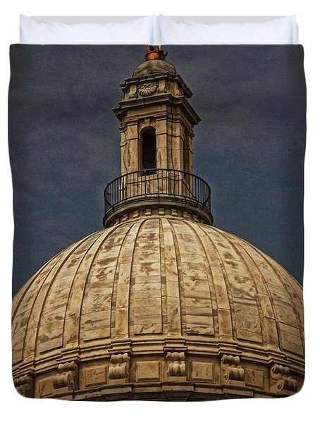 Independent Man II Duvet Cover