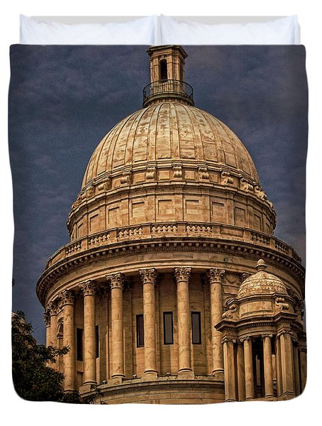 Independent Man Duvet Cover by Lourry Legarde