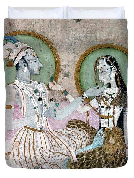 India: Couple Duvet Cover