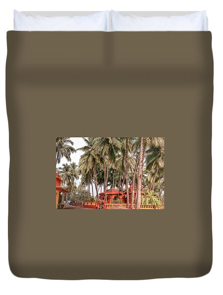India House Duvet Cover