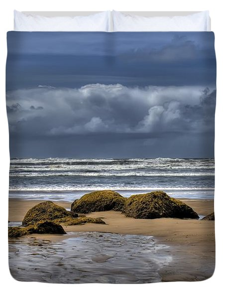 Indian Beach Duvet Cover