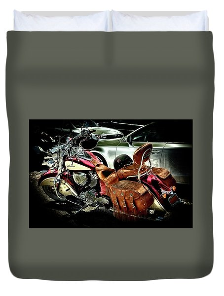 Indian Chief Vintage - 2016 Duvet Cover