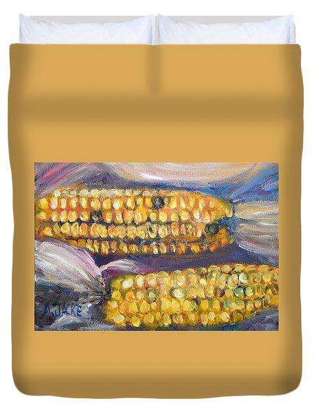 Indian Corn Duvet Cover