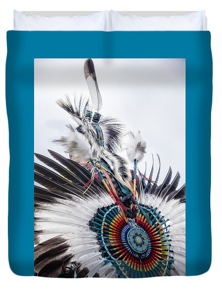 Indian Feathers Duvet Cover