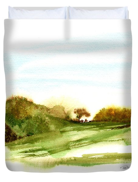 Indian Hill Groton Ma Duvet Cover