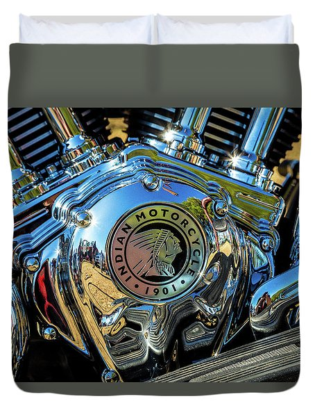 Indian Motor Duvet Cover