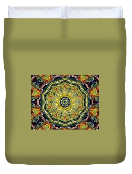 Indian Paint Duvet Cover