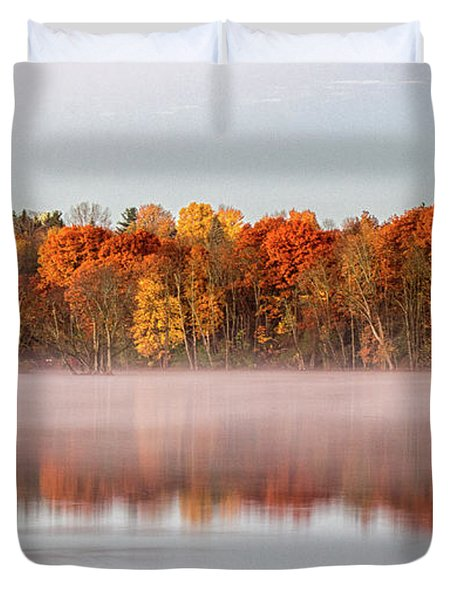 Indian Point Morning Duvet Cover
