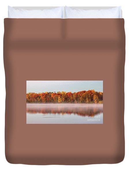 Indian Point Morning Duvet Cover
