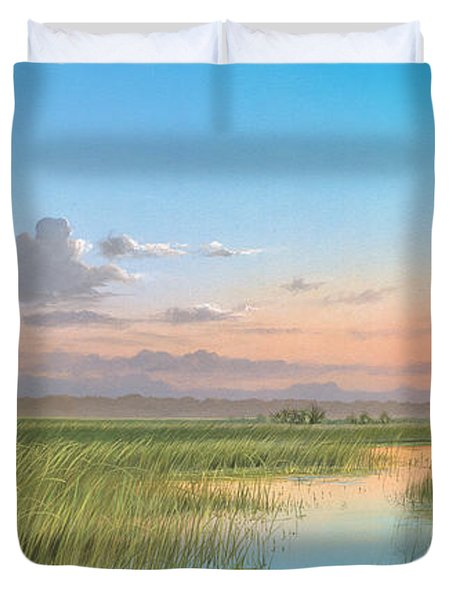 Indian River Duvet Cover