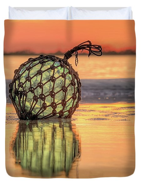 Indian River Sunset Duvet Cover by JC Findley