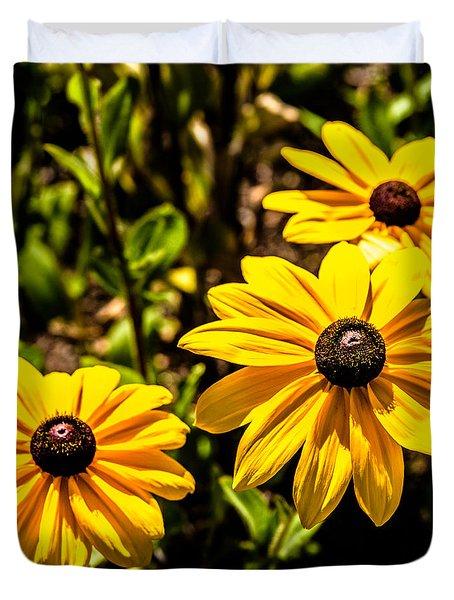 Indian Summer Gloriosa Daisy Duvet Cover