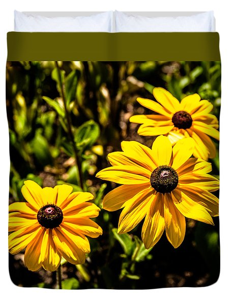 Indian Summer Gloriosa Daisy Duvet Cover